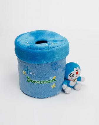 浅蓝色圆形面纸盒套 家居专场特价2.3 5.1折