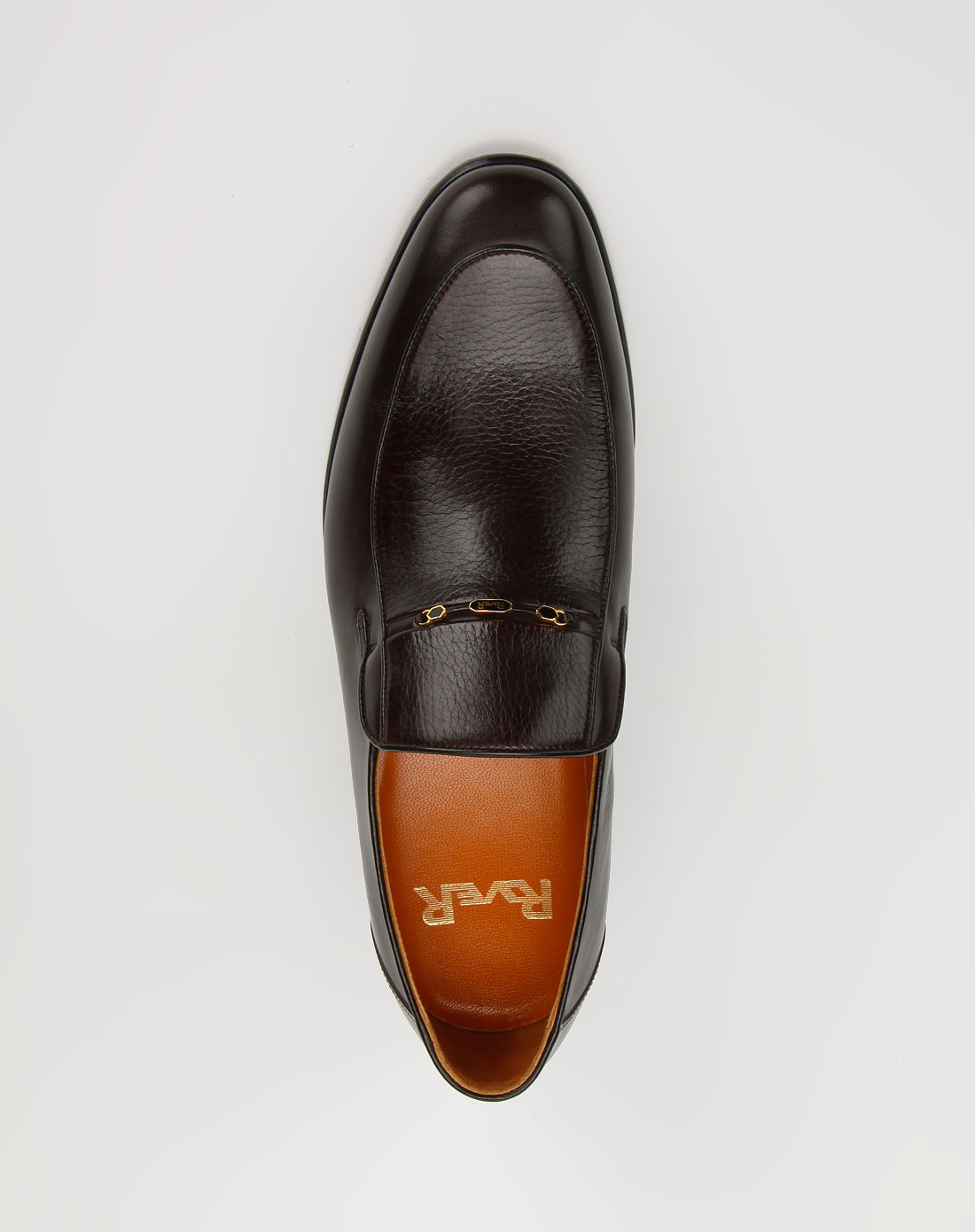 男款深啡色商务牛皮鞋