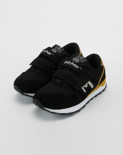 童鞋儿童黑色运动鞋