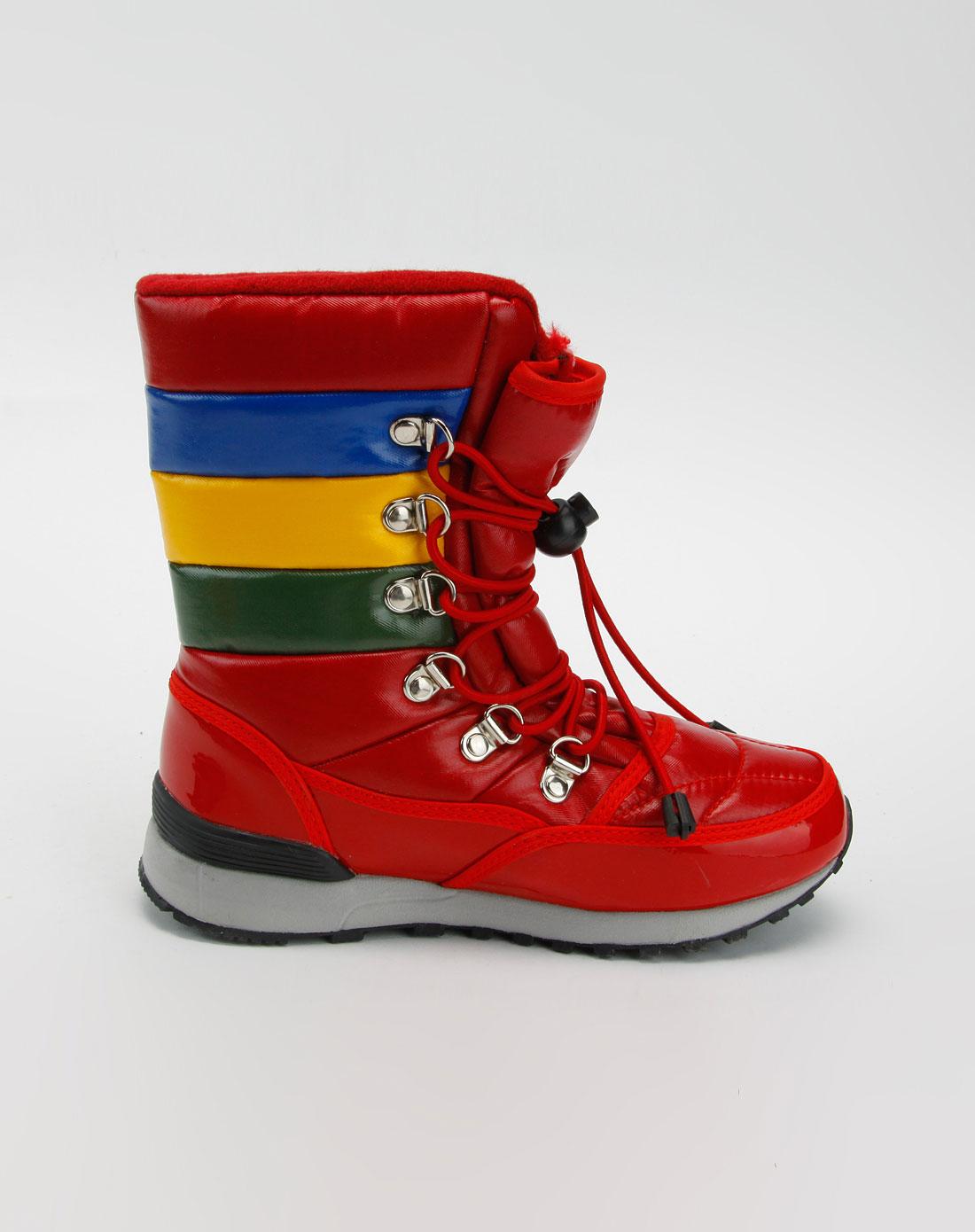 儿童红色雪地靴_哈利波特harrypotter童鞋特价2