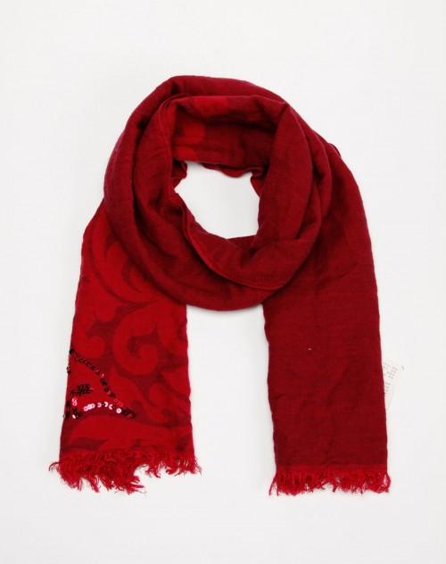 红色亮片围巾 ESPRIT EDC混合专场官网特价3折图片