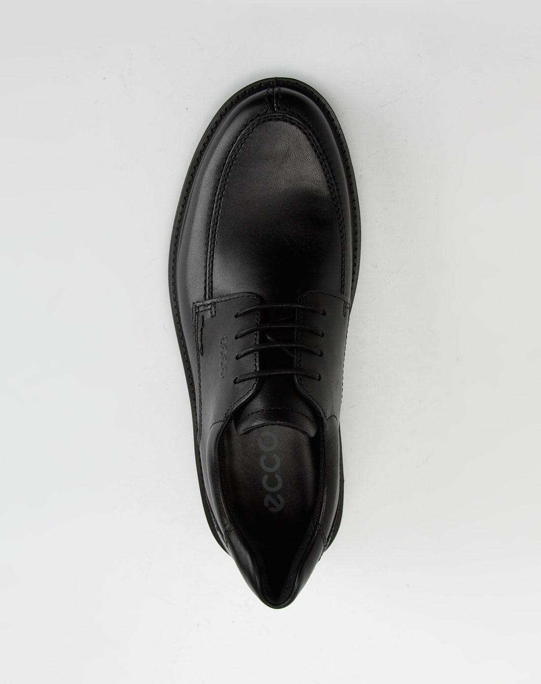 男款波士顿系列黑色皮鞋