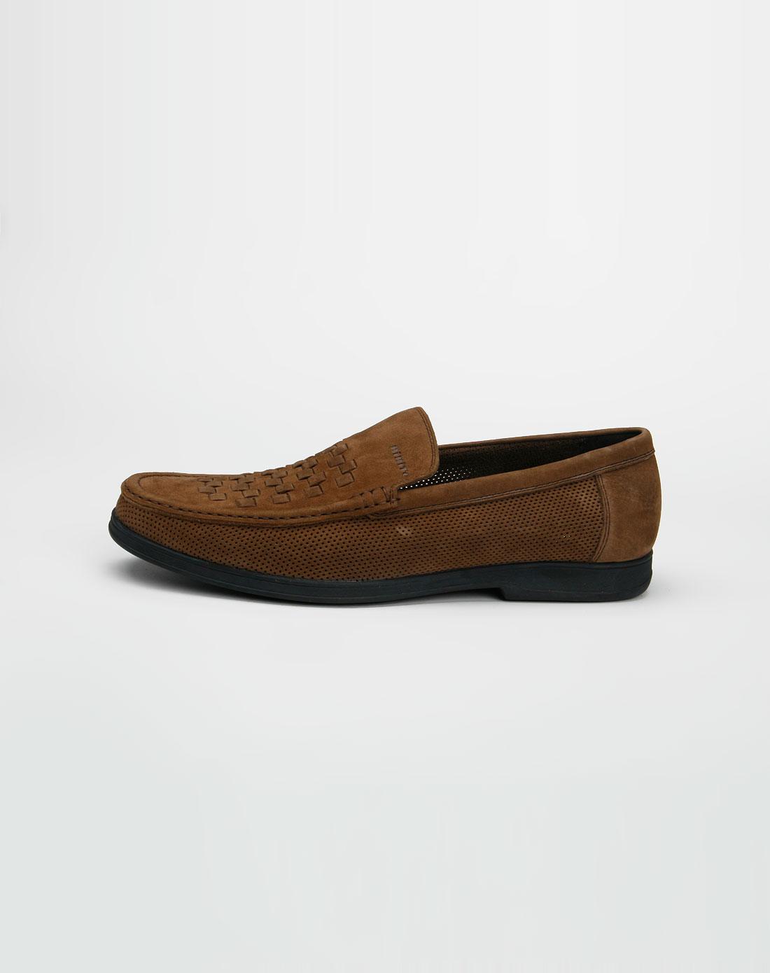 啡色软皮休闲皮鞋_比比托bibito官网特价1