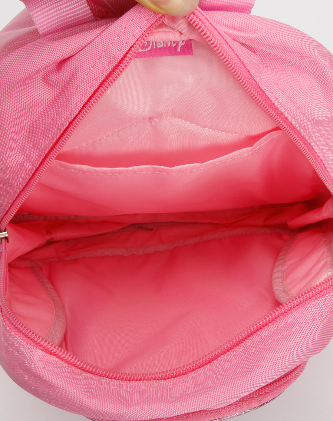 迪士尼disney-书包,粉红色可爱小书包
