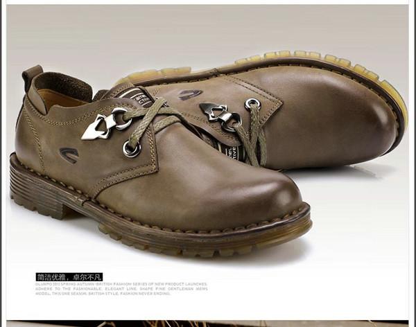 棕色马丁鞋搭配图片
